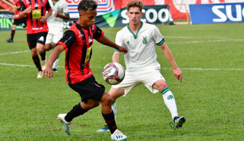 América supera Pouso Alegre fora de casa e segue 100% no Mineiro Sub-20
