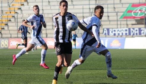 Botafogo empata com São José-RS e vai às quartas da Copa do Brasil Sub-20