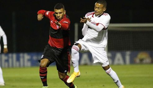 Flamengo bate São Paulo fora de casa e vence a quarta no Brasileirão Sub-17