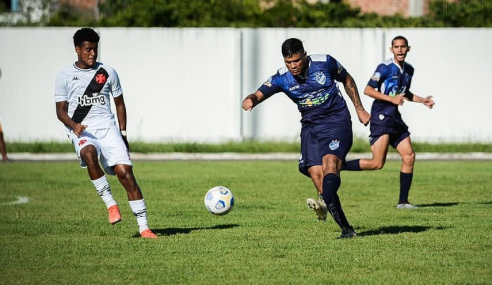 Vasco resolve no primeiro tempo e bate São Raimundo-RR pela Copa do Brasil Sub-20