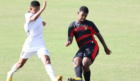 Athletico-PR bate Sport e vence a terceira no Brasileirão Sub-17