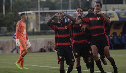 Com gol de falta de Daniel Cruz, Sport bate Chapecoense pelo Brasileirão Sub-17