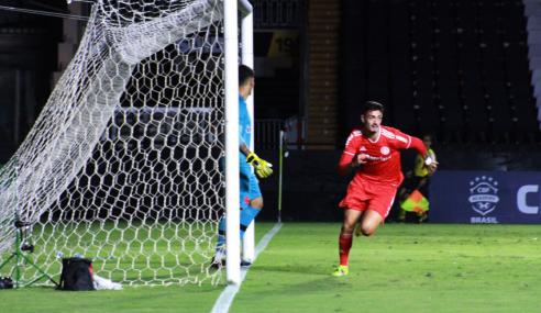Internacional vence Vasco fora de casa na ida das quartas da Copa do Brasil Sub-20
