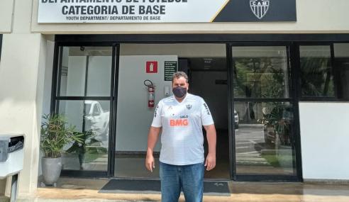 Atlético-MG contrata profissional da base do Jacuipense para trabalhar como scout
