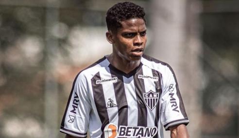 Gol no fim garante estreia vitoriosa do Atlético-MG no Mineiro Sub-20