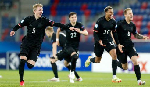 Alemanha leva a melhor nos pênaltis e vai às semifinais da Euro Sub-21