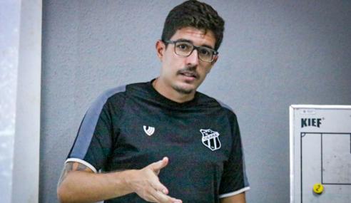 """Álvaro Martins projeta estreia no Cearense Sub-17: """"Estamos preparados"""""""