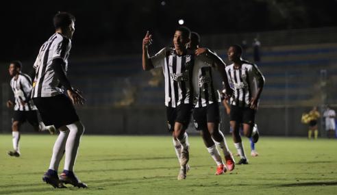 Em jogo com duas expulsões, Atlético-MG supera Fortaleza pelo Brasileirão Sub-17