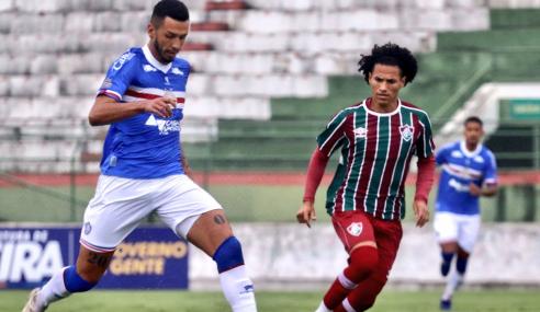 Bahia fica duas vezes na frente, mas leva empate do Fluminense no Brasileirão Sub-20