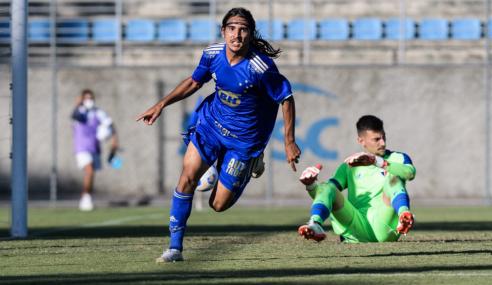 Com golaços, Cruzeiro goleia Fortaleza em estreia no Brasileirão Sub-20