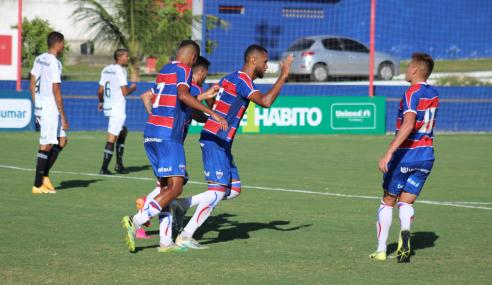 De virada, Fortaleza vence Grêmio e segue 100% no Brasileirão de Aspirantes