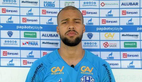 Palmeiras negocia atacante que estava emprestado ao Paysandu