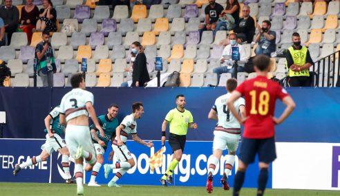 Gol contra põe Portugal na final do Europeu Sub-21