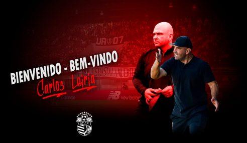 Técnico Carlos Leiria deixa o sub-15 do Corinthians
