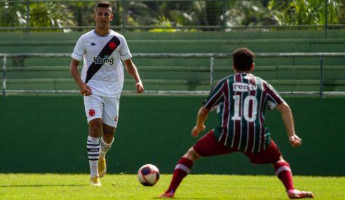Vasco e Fluminense ficam no 0 a 0 pelo Carioca Sub-20