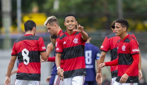 Flamengo goleia Macaé por 9 a 1 no Carioca Sub-20
