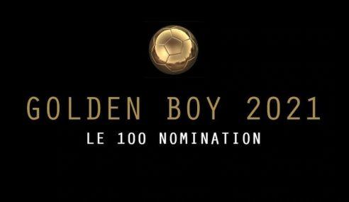 Cinco brasileiros estão na lista de 100 candidatos ao prêmio Golden Boy de 2021