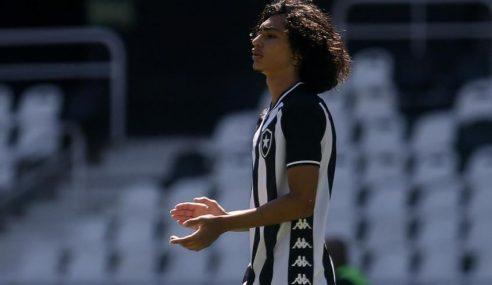 Matheus Nascimento é liberado para jogar final do sub-20 pelo Botafogo