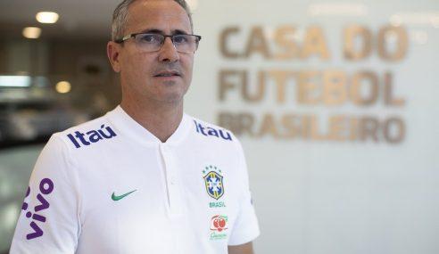 Dudu Patetuci assume Seleção Brasileira Sub-15 e faz primeira convocação