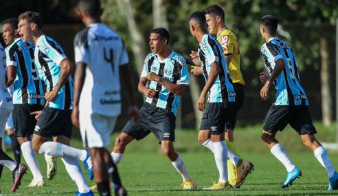 Em casa, Grêmio vence Ceará e se recupera no Brasileirão Sub-17