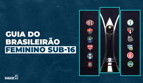 Confira o Guia DaBase do Brasileirão Feminino Sub-16