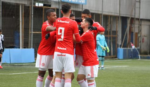 Internacional decide no primeiro tempo e bate Ceará pelo Brasileirão Sub-20