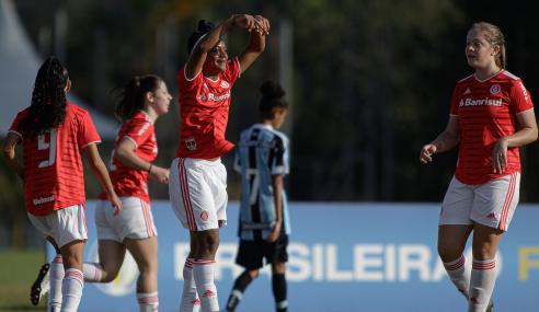 Brasileirão Feminino Sub-16 começa com goleadas e clássico; veja os resultados