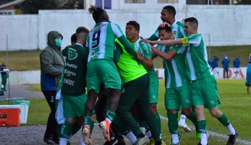 Juventude vence Fluminense em sua estreia no Brasileirão de Aspirantes