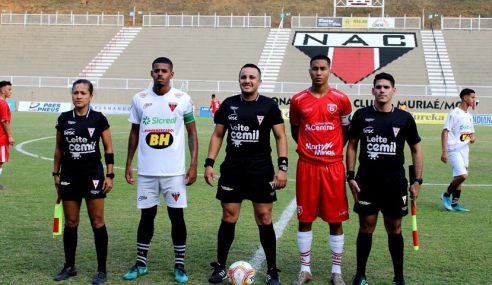 Nacional de Muriaé bate Guarani e assume vice-liderança do Grupo A do Mineiro Sub-20