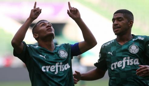 Palmeiras vence América-MG e encaminha vaga nas quartas do Brasileirão Sub-17