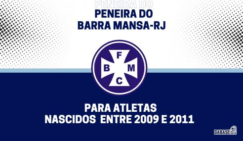 Barra Mansa-RJ realizará peneira para duas categorias