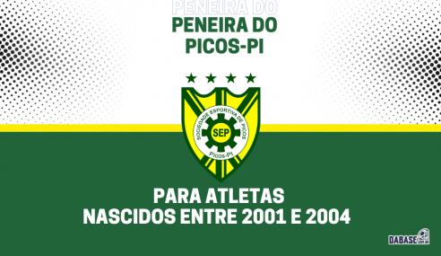 Picos-PI realizará peneira para a equipe sub-20