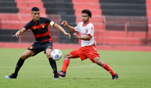 Internacional leva empate do Sport e se complica no Brasileirão Sub-17