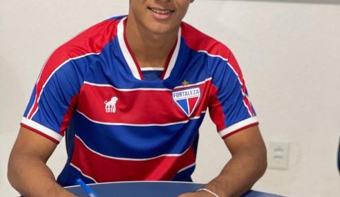 Fortaleza contrata volante para o time sub-17