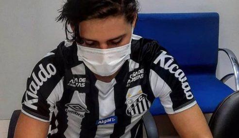 Santos dispensa meia boliviano que não atuou pelo clube