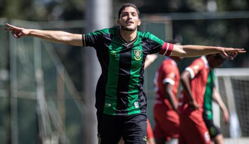 América vence América-TO e fecha primeira fase do Mineiro Sub-20 com 100%