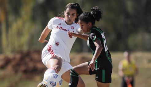 Internacional bate América-MG e encaminha classificação no Brasileirão Feminino Sub-18