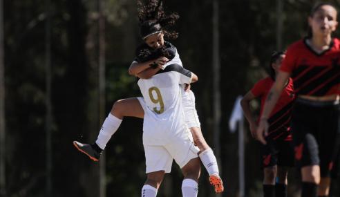 Sport leva virada, mas busca empate com o Athletico-PR pelo Brasileirão Feminino Sub-18