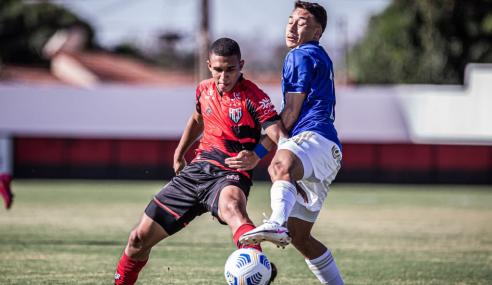 Cruzeiro empata com o Atlético-GO e avança às quartas do Brasileirão Sub-17