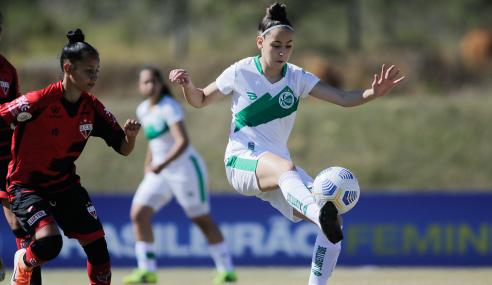 Atlético-GO e Juventude não saem do zero em estreia no Brasileirão Feminino Sub-18