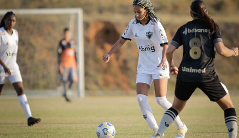 Ceará busca empate com o Atlético-MG e segue invicto no Brasileirão Feminino Sub-18