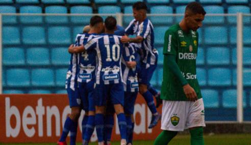 Avaí vence Cuiabá e entra no G-4 do Grupo B do Brasileirão de Aspirantes