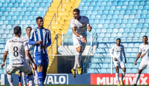 Grêmio empata com o Avaí e garante classificação no Brasileirão de Aspirantes