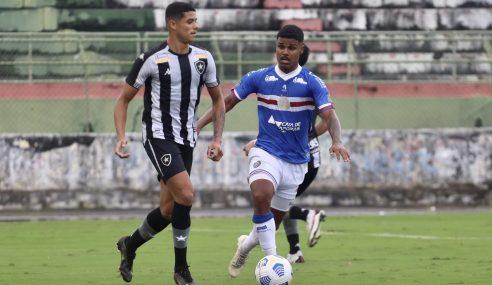 Botafogo vence Bahia e assume vice-liderança do Brasileirão Sub-20