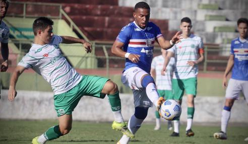 Bahia empata com o Juventude e confirma vaga na segunda fase do Brasileirão de Aspirantes