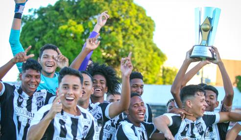 Campeão de torneio da CBF Sub-17, Álvaro Martins destaca promoção de atletas no Ceará