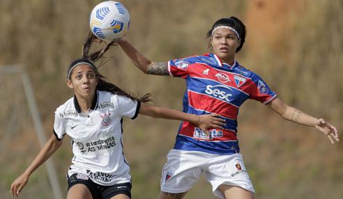 Corinthians empata com o Fortaleza e complica classificação no Brasileirão Feminino Sub-18