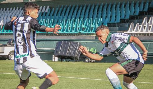 Ceará vence Coritiba e assume vice-liderança do Grupo A do Brasileirão de Aspirantes
