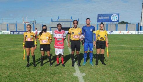 Confiança goleia Dorense na partida de abertura do Sergipano Sub-20