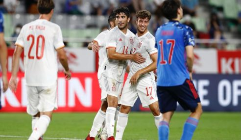 Japão e Espanha empatam em amistoso antes das Olimpíadas